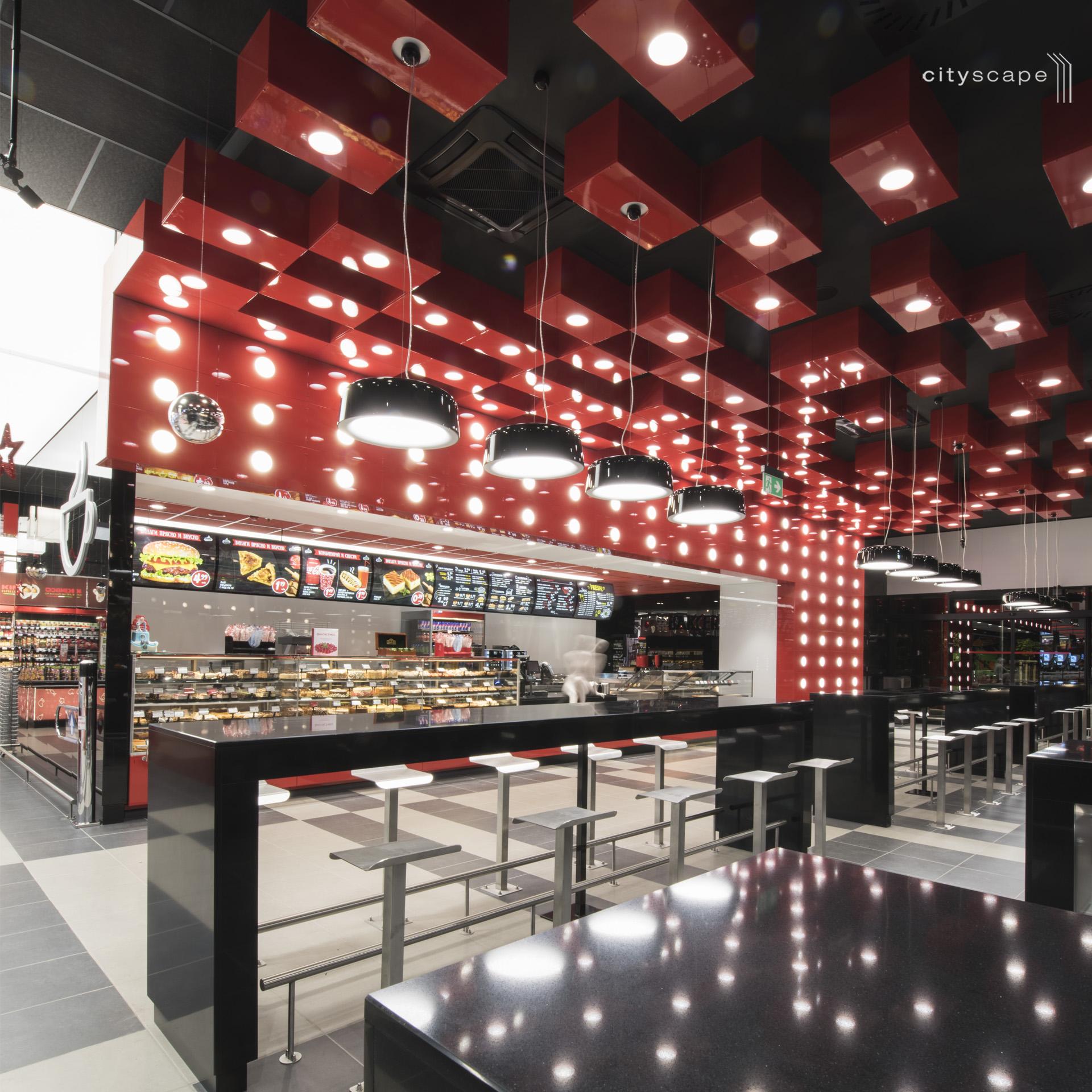 """Последно поколение LED осветителни тела и системи за супермаркет """"Фантастико"""" в кв. Младост 1"""