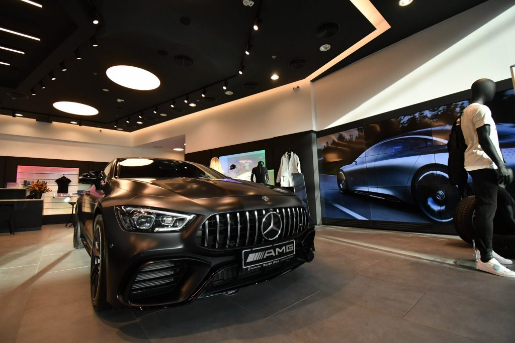 Mercedes-Benz Boutique, Concept Store в София Ринг Мол